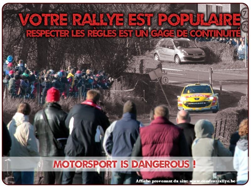 Affiches tirées du Site du Rallye du Condroz * Motor Club de Huy