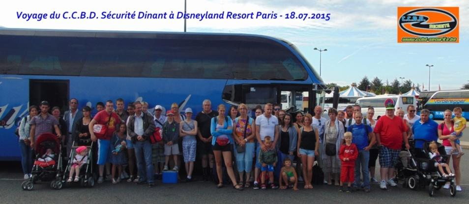 Voyage du 18-07-2015 au Parc Disneyland Resort Paris