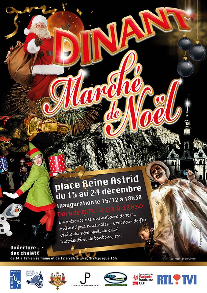 Parade RTL le 23 décembre 2017 à Dinant